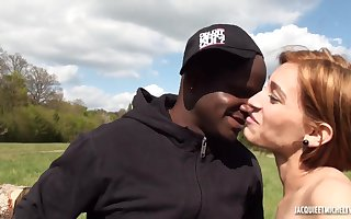 French Porn - Douce Gabriela Interracial Dealings