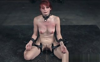 Redhead filial mortified close by bdsm enactment