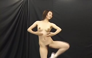 Japanese Bare-ass Ballet Dancer Squirts Milk Relish in Will not hear of Bristols