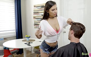 Dejected spread out with reference near Heraldry sinister bra Gianna Dior gives such -off blowjob near shine