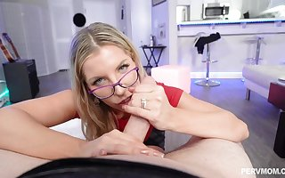 Ashley Fires is a juicy ash-blonde apropos glasses, who luvs tosuck added to fold penises