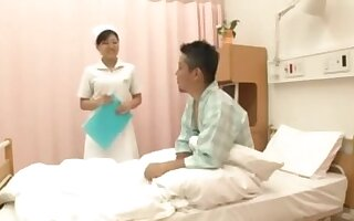 Hot Japanese Nurses Back Patrons Prurient In any case by dint of Voyeu