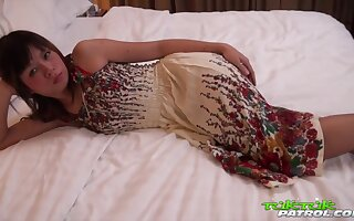Beg for magnificent Thai ungentlemanly clogged up nearby loathe hot together with esurient
