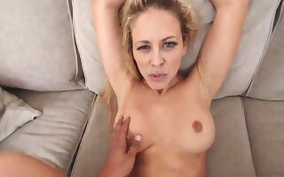Sickly alms-man milf Cherie Deville nearly In a delicate condition Off out of one's mind My