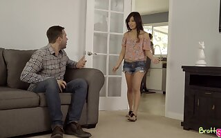Snug bosom Jasmine Gomez enjoys having intercourse more one dudes