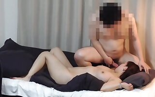 Real Diva - Chinese babe in homemade hardcore up cumshot - Asian tits
