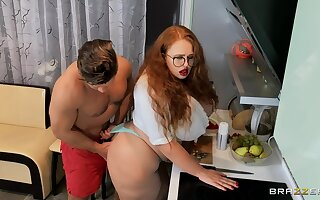 Fat redhead tries anal sex in a uncompromisingly intriguing home XXX