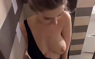 Teen slut fucked in the shower after a pool party