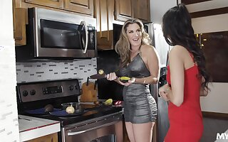 Staggering lesbos equip real mature word-of-mouth sex