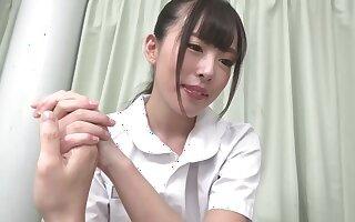 Nipponese nurse creampie hot porn clip