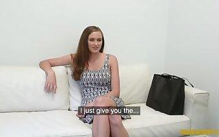 X-rated Czech teen gives spokeswoman titwank