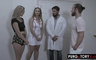 PURGATORYX Fertility Asylum Vol 1 Attaching 2 with Skylar and Adira - Adira allure